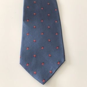 J.cree blue lucky ladybug 🐞 tie new with tag